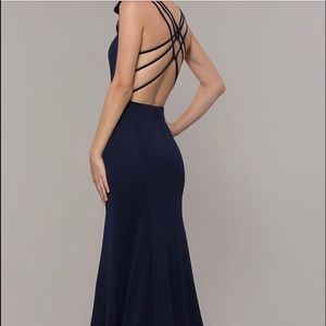 Backless Prom/Formal/Wedding guest/evening dress